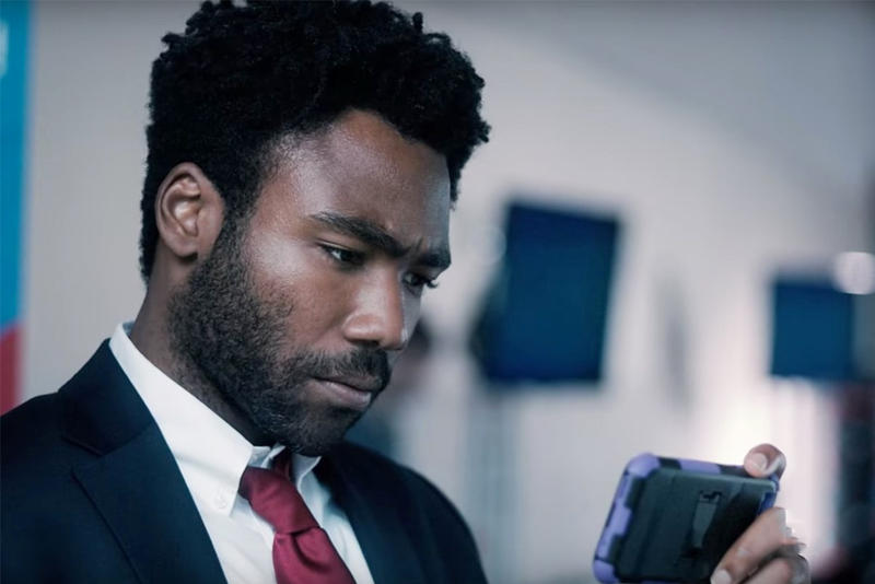 Atlanta Biggest Cable Comedy Debut donald glover suit