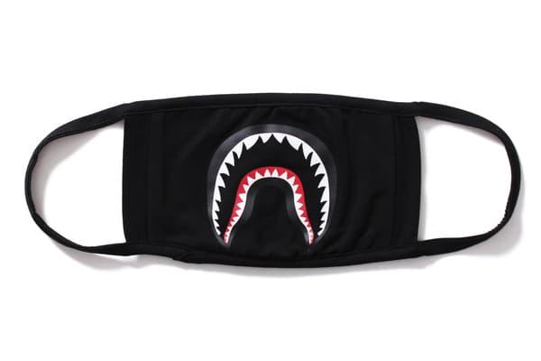 BAPE Shark Mask A Bathing Ape Winter Months Camo Japan Baby Milo