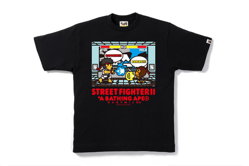 BAPE 'Street Fighter' Collection black yellow red