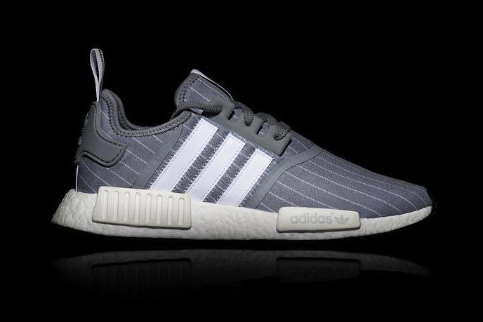 02559c93ad720 BEDWIN   THE HEARTBREAKERS x adidas NMD R1 grey white stripes