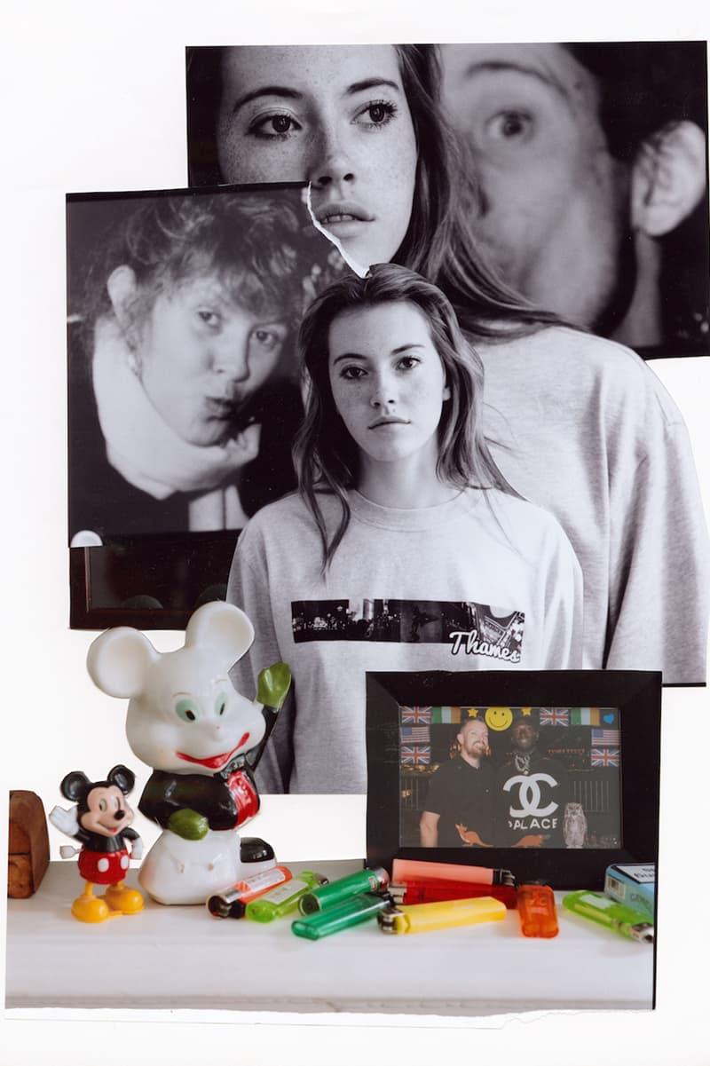 Blondey McCoy Thames London zine collage lookbook