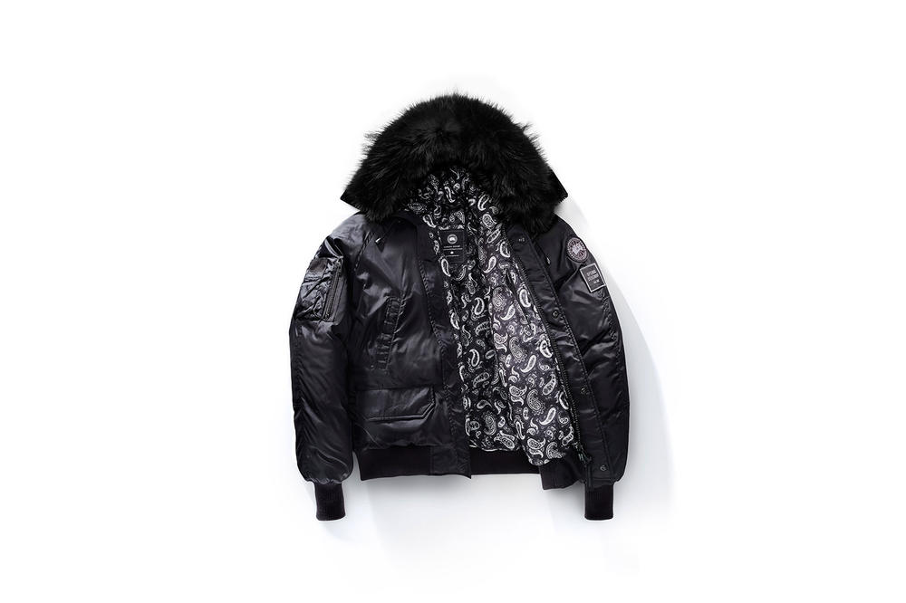Canada Goose Opening Ceremony Collaboration