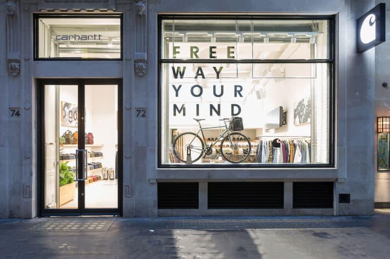Carhartt WIP Soho London store retail fashion