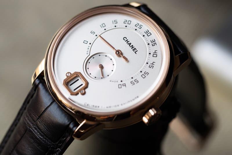 Chanel Monsieur De Chanel Baselworld Timepiece Watch