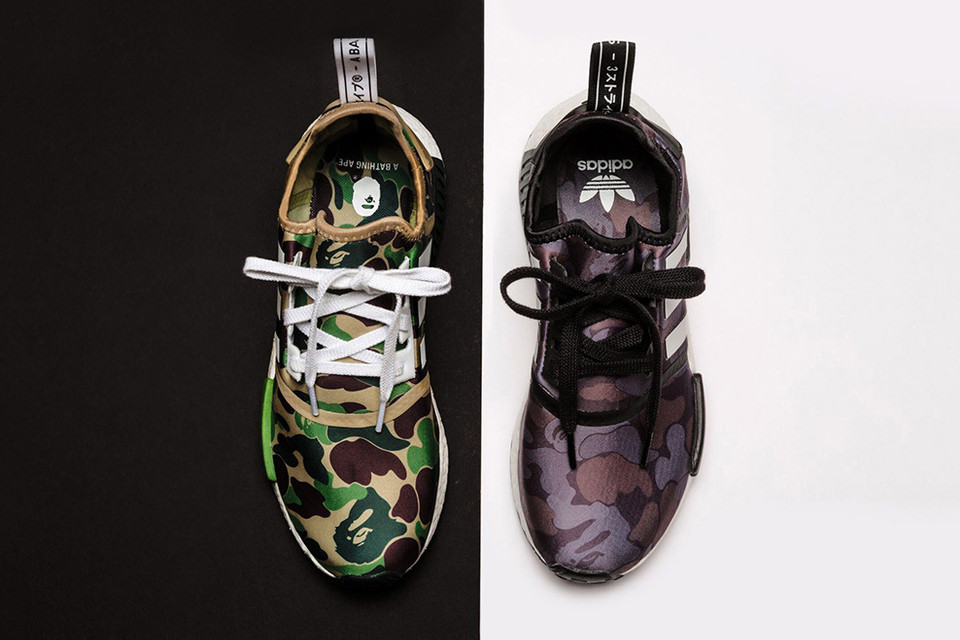 best sneakers 7b184 687a4 A Closer Look at the A Bathing Ape x adidas NMD Collaboration   HYPEBEAST