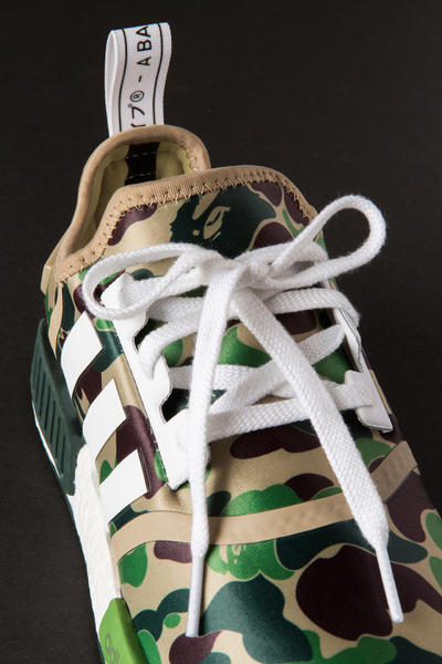 Closer Look Bathing Ape adidas NMD