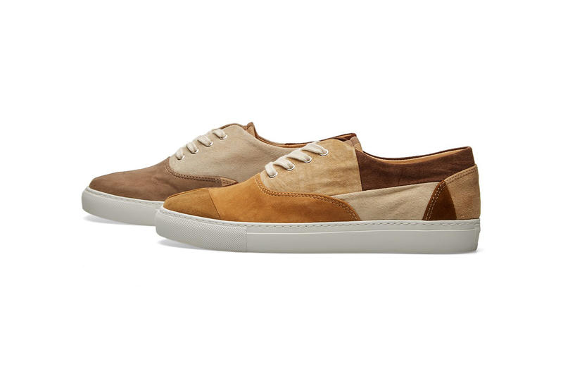 COMME des GARÇONS SHIRT Pointer Patchwork Sneakers