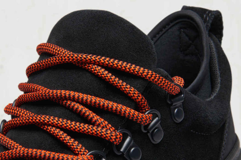 Converse Revels the Chuck Taylor All Star Descent Low black suede Eva sole rugged