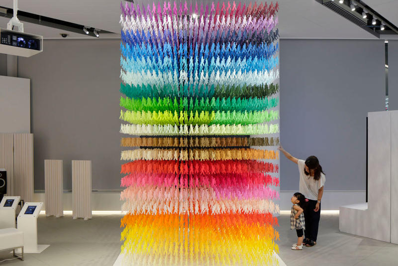 Emmanuelle Moureaux I am here METoA Ginza Space in Ginza