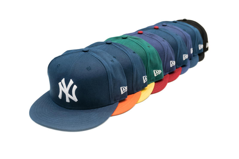 f98cb92888d Eric Emanuel New Era Hats Waxed Canvas caps baseball Yankees Astros  Athletics Red Sox White Sox