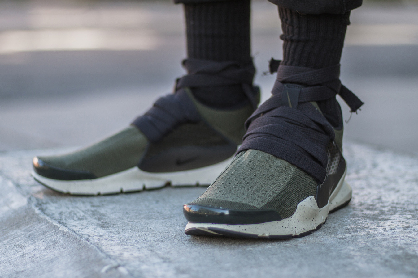 Nike Sock Dark Eske Shiaralli Custom