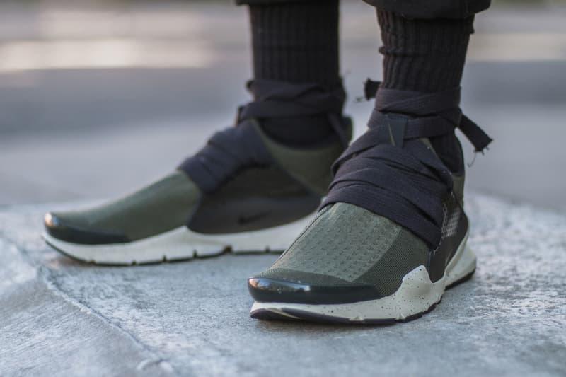 half off e76da 5fa8d Nike Sock Dark Eske Shiaralli Custom Sneaker | HYPEBEAST