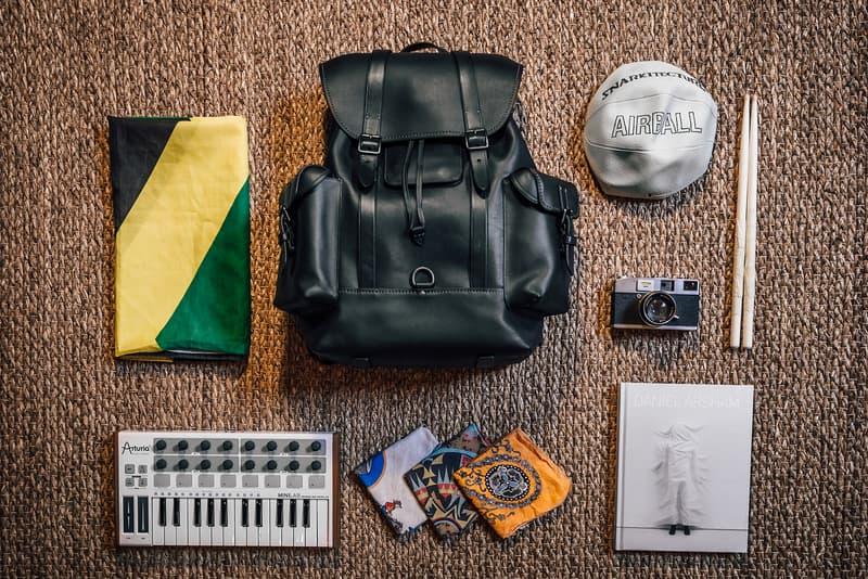 melo-x bandana jamaican flag snarkitecture air ball daniel arsham midi keyboard