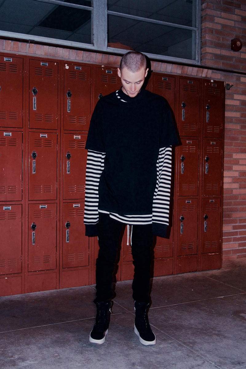 Fear Of God Pacsun Back To School Collection Two Jerry Lorenzom kevin amato lookbook clothes streetwear Jerry Lorenzo