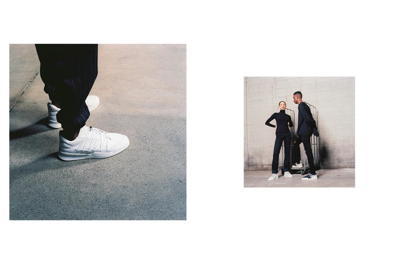 "Filling Pieces ""Inner Circle"" Fuse Runner Low High Astro Runner Low Top Lee Fabien Montique vintage Hasselblad camera lookbook editorial"