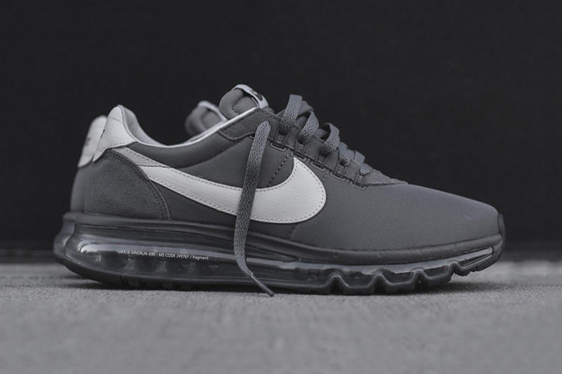 "0f9a65565f fragment design x Nike Air Max LD Zero ""Cool Grey"" | HYPEBEAST"