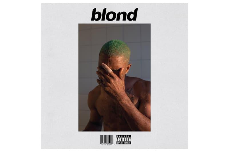 Frank ocean Blonde Spotify Apple Music