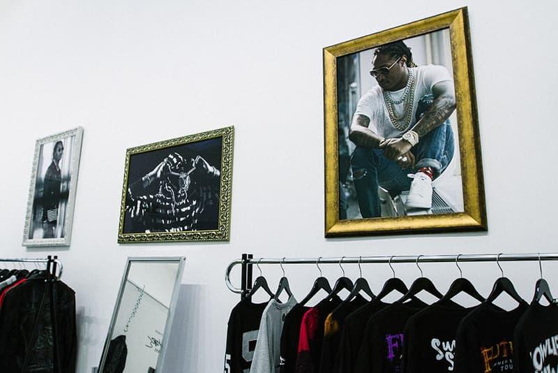 Future Pop Up Store clothing fashion hive los angeles freebandz