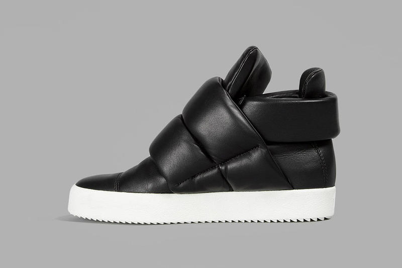 Giuseppe Zanotti High Top Sneakers black nappa leather