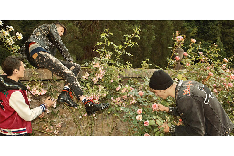 Gucci Cruise 2017 Campaign chatsworth house
