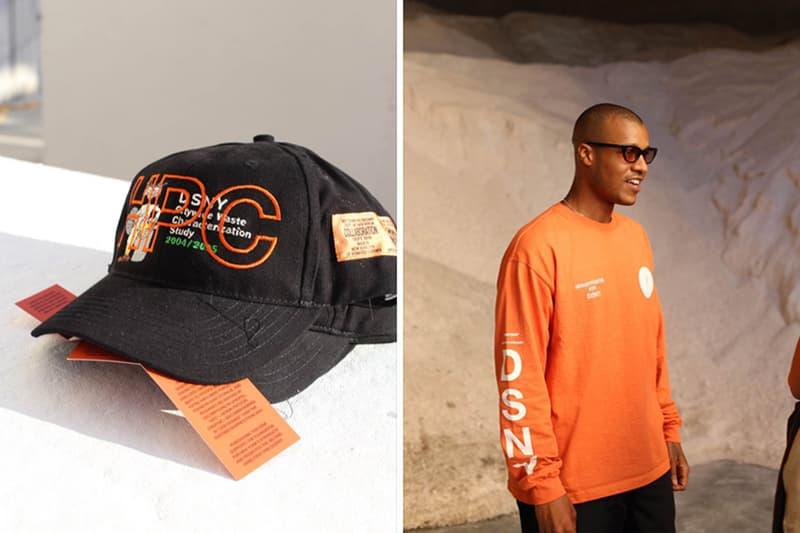 Heron Preston DSNY Collection orange