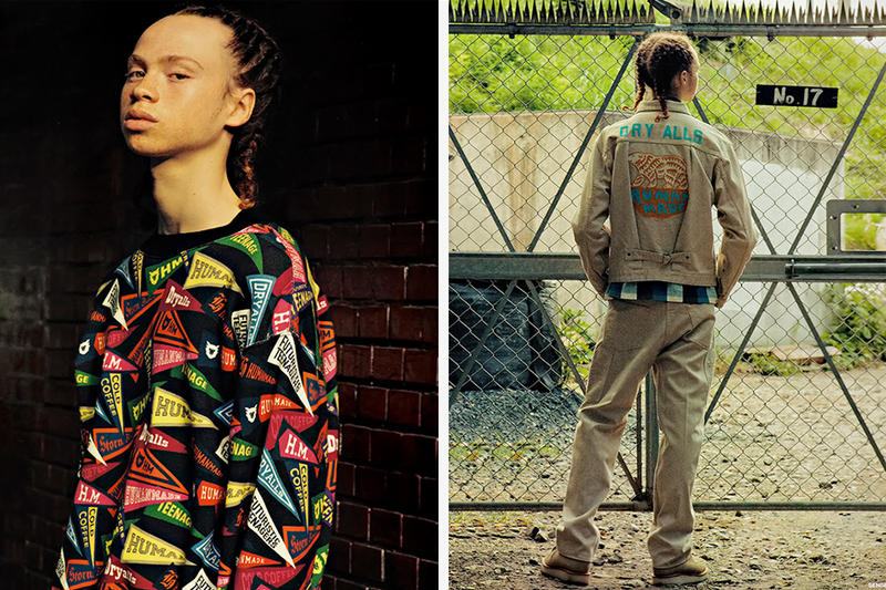 HUMAN MADE Shows off Its 2016 Fall/Winter Collection in SENSE Magazine editorial lookbook nigo jackets pants