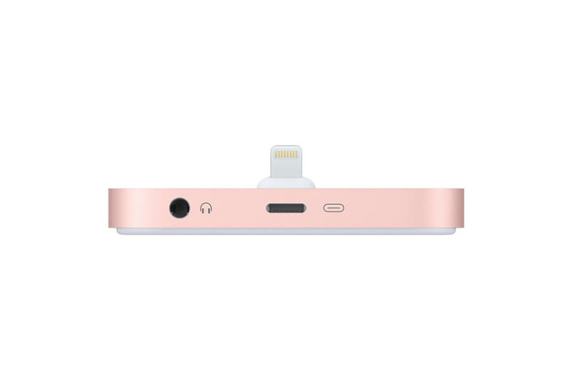 Apple iPhone 7 Lightning Dock rose gold black grey