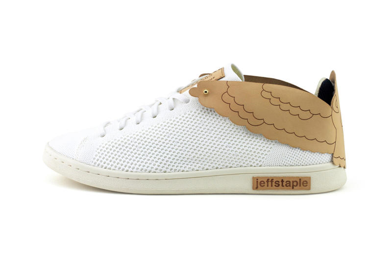 jeffstaple Customized Stan Smiths adidas Originals Zhijun Wang pigeon tanned italian vegetable leather