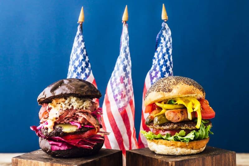 JS Burgers Presidential Burgers