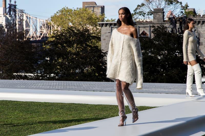 Kanye West Yeezy Season 4 Fashion Show Boost 350 v2 All White Oxford Tan