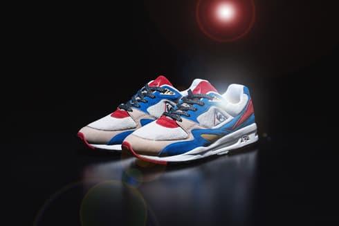 KICKS LAB  le coq sportif LCS R 800 Sneaker red white blue