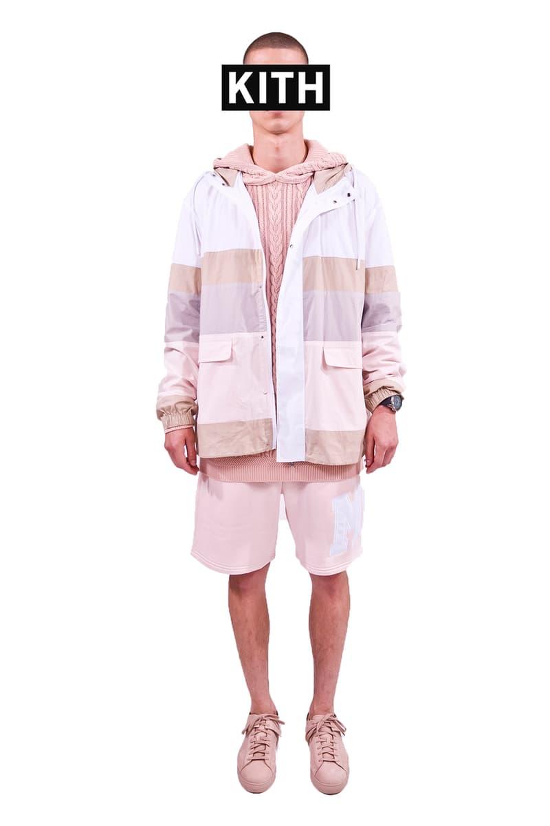 "Ronnie Fieg ""KITHLAND"" Men's Looks BAPE OFF-WHITE ASICS Aimé Leon Dore Bergdorf Goodman adidas"