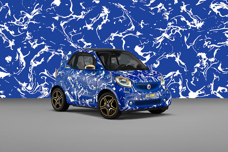 La MJC Celebrates 10 Years of All Gone With Smart Car Print Wraps Collaboration