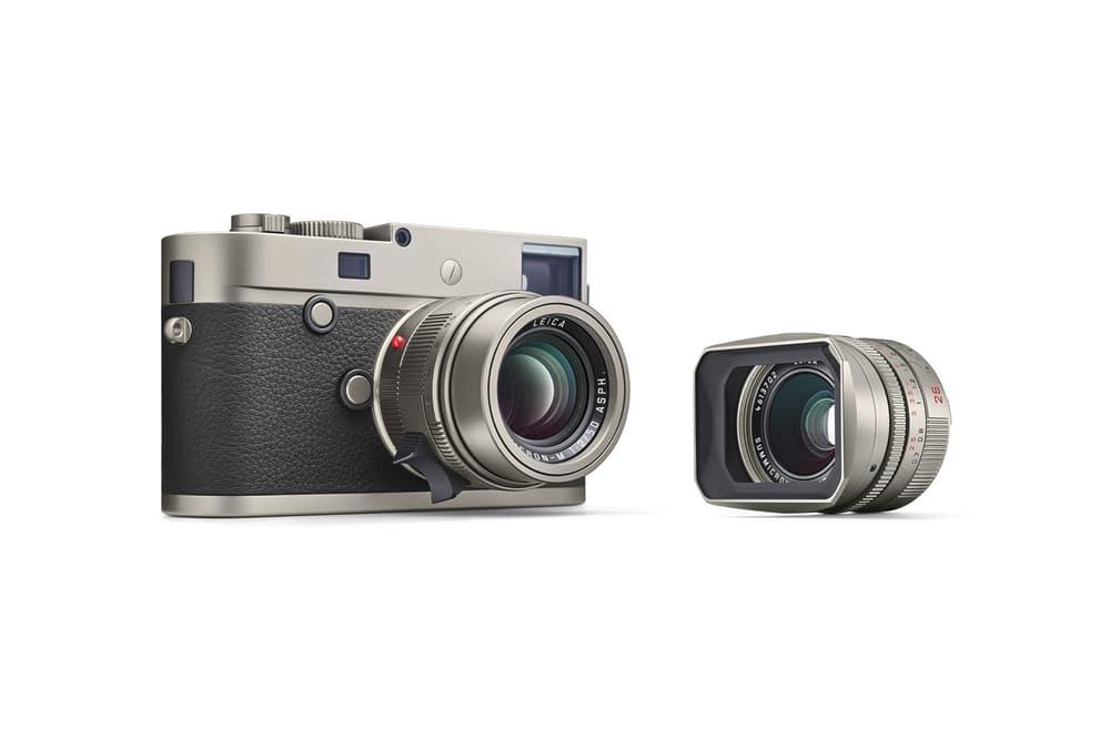Leica M P Typ 240 Titanium Set With Lenses
