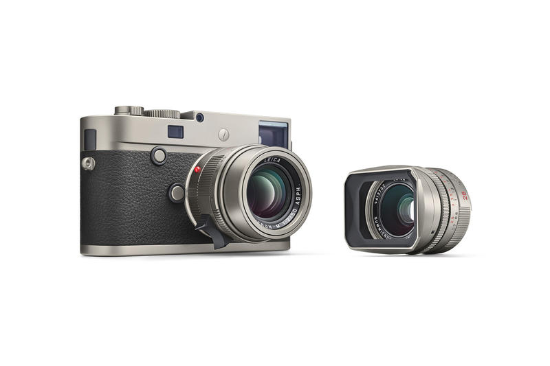 Leica M P Typ 240 Titanium Set With Lenses
