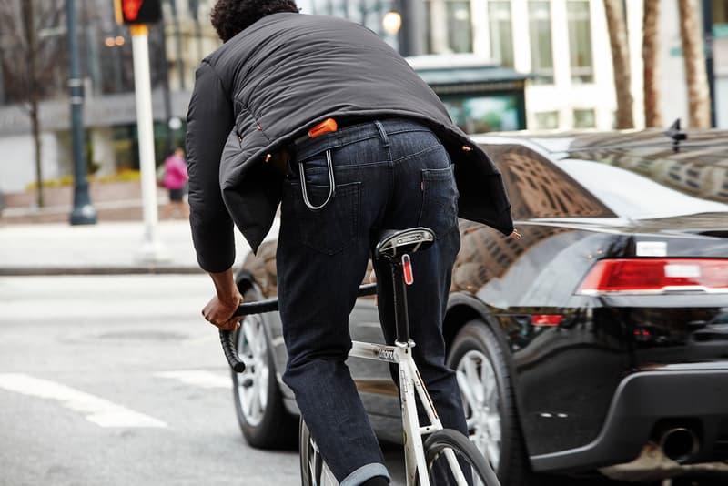 levi's commuter fall 2016 reflective jeans denim trucker jacket