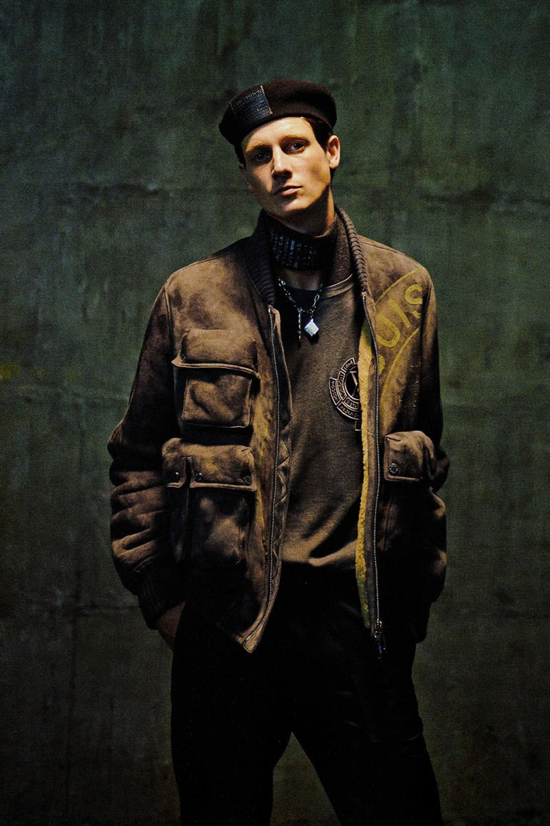 Louis Vuitton 2016 Fall/Winter 'SENSE' Editorial French house lookbook trench coats bomber jackets silk shirts