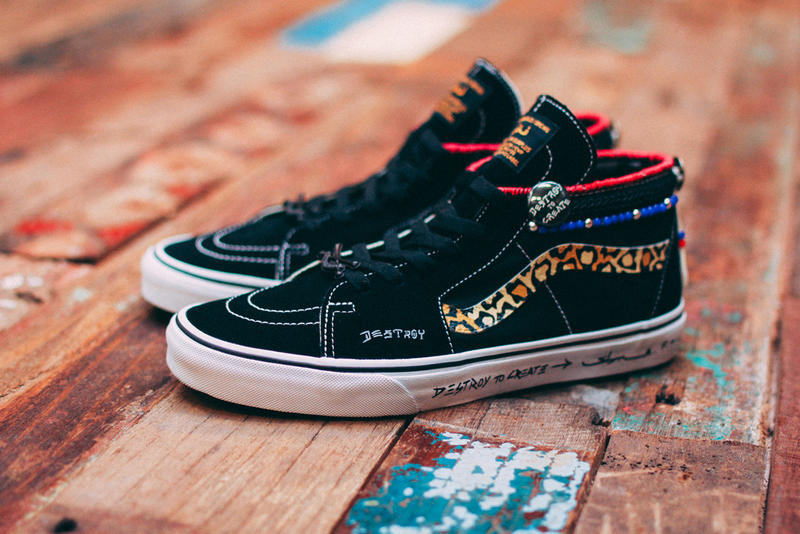 SBTG Mark Ong Sk8-Hi House of Vans Singapore