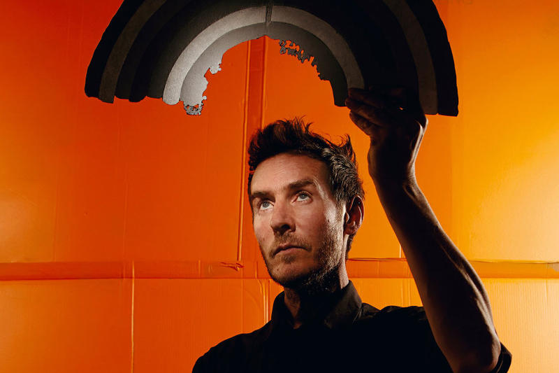 Massive Attack Robert Del Naja Orange Painting