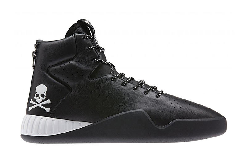 mastermind JAPAN x adidas Originals nmd xr1 tubular instinct black white skull bones