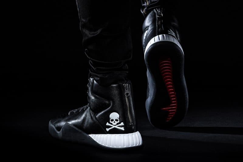 mastermind JAPAN x adidas Originals nmd xr1 tubular instinct black white red skull bones