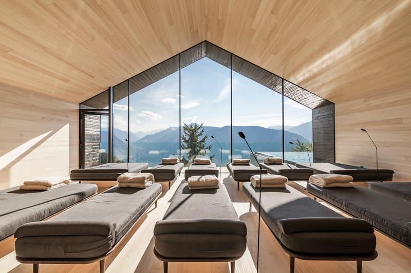 MiraMonti Boutique hotel wood modern nature