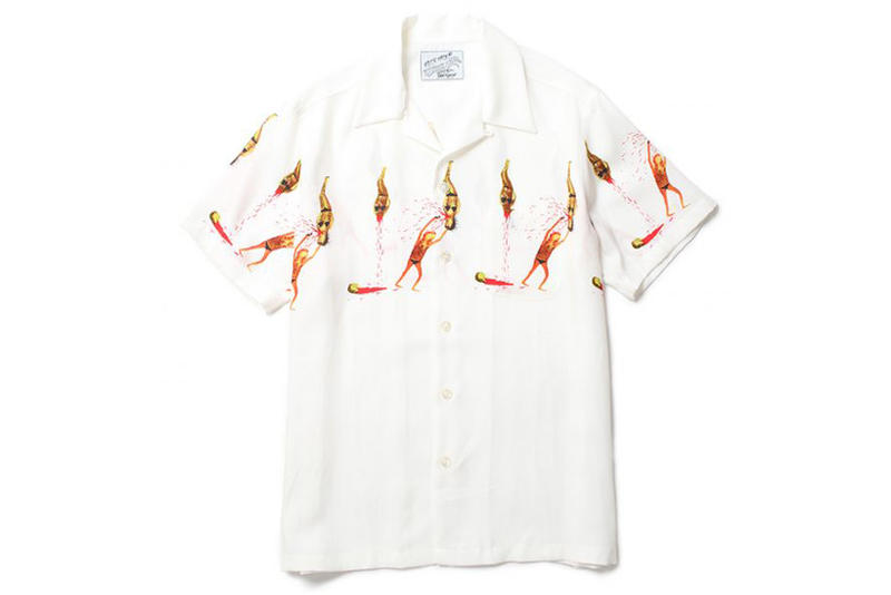Wacko Maria, T-shirts, Hawaiian shirts, souvenir jackets, sweatshirts and Rayon '50s shirt