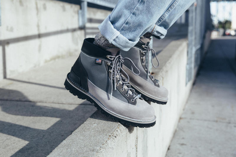 New Balance x Danner American Pioneer Project grey light boot