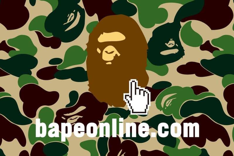 New Bape Online Store Launch