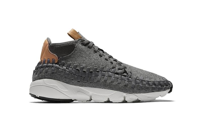 Nike Air Footscape Woven Chukka SE Grey Wool