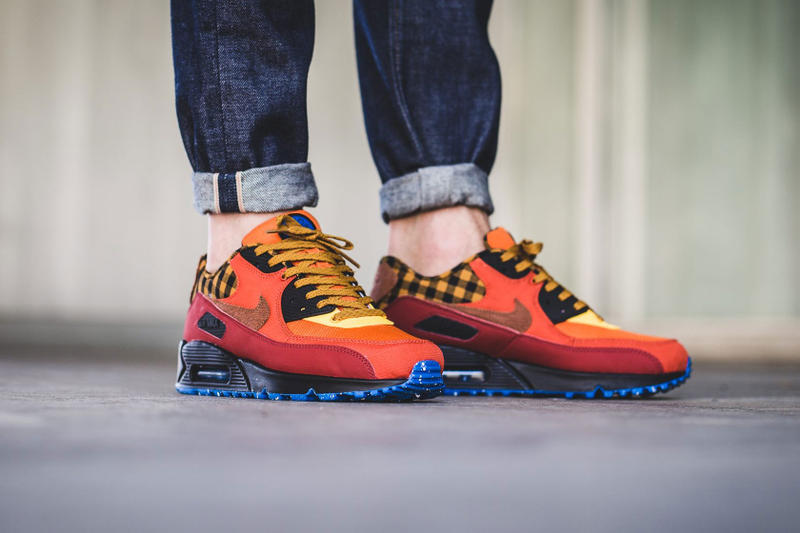 best sneakers 6cca1 54ad5 Nike Air Max 90 Campfire Colorway Sneaker