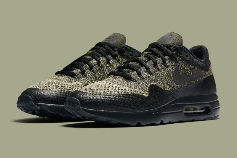 quality design 8a652 3666b Nike Air Max 1 Ultra Flyknit Olive Sneaker   HYPEBEAST