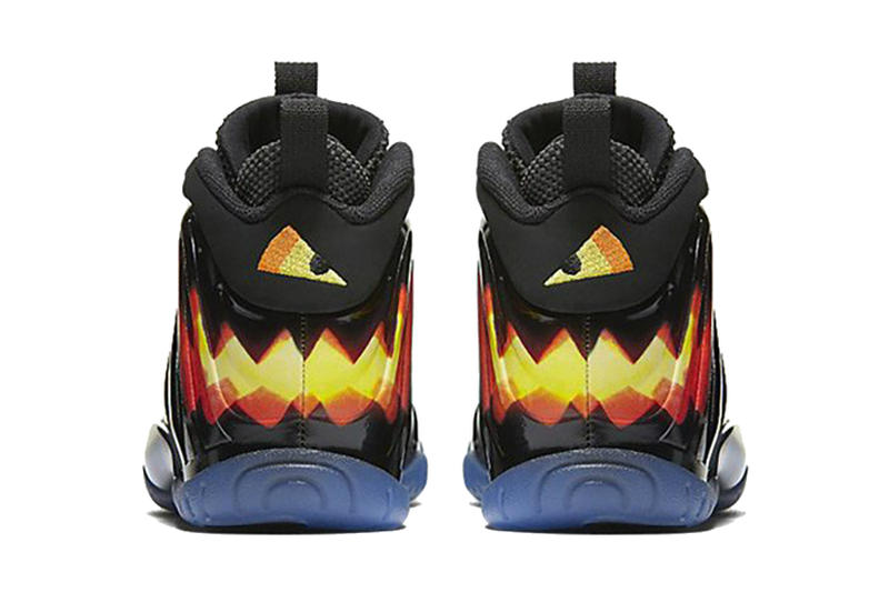 Nike Air One Little Composite Halloween black red yellow