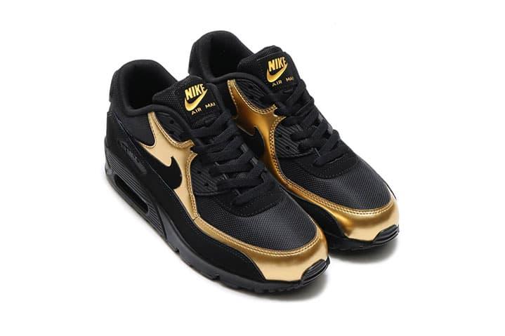 Nike Air Presto Essential x Nike Air Max 90 Essential Gold  84e92299a